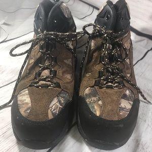 Brahma Steel toe camo work boot